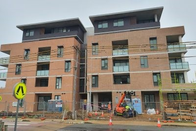Miller Apartments Near Completion